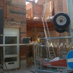 Verbouwing winkel te Hoogstraten